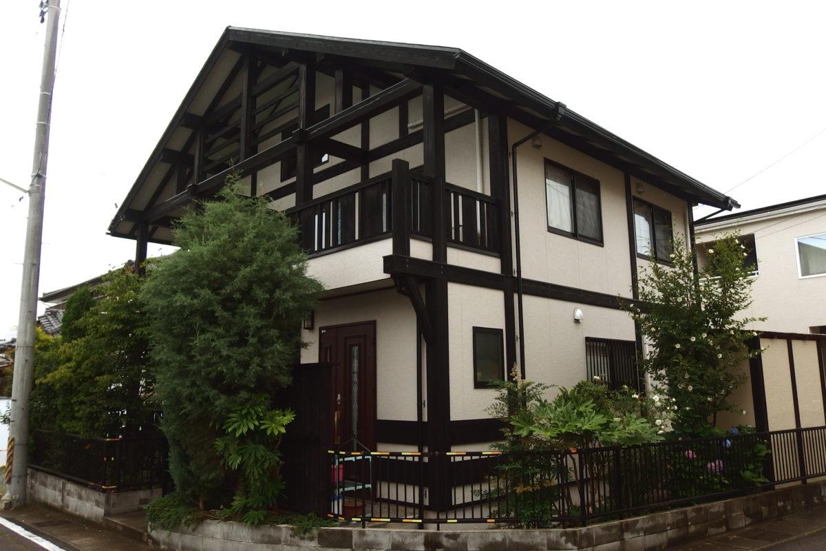 「木」が外部に使われているお住まいの外装リフォーム その2  ~仙台のリフォーム専門日記~